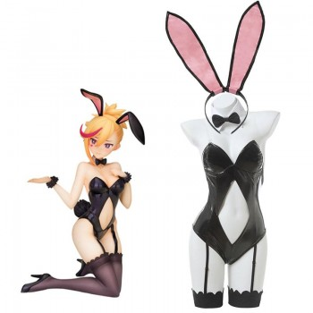 Muse Dash Rin Black Bunny Girl Jumpsuit Cosplay Costume