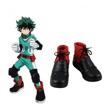 My Hero Academia Izuku Midoriya Cosplay Shoes