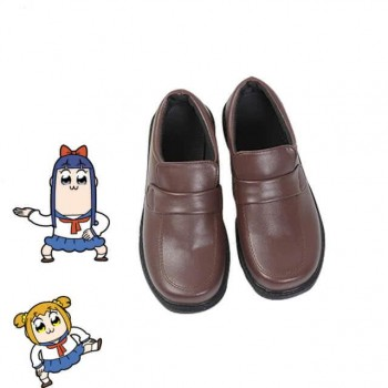 Poputepipikku Pop Team Epic Popuko and Pipimi Japanese JK Uniform Cosplay Shoes