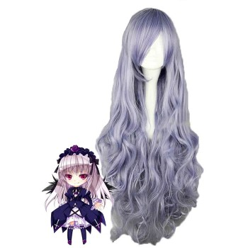 Rozen Maiden Long Mixed Anime Coaply Woman Wigs