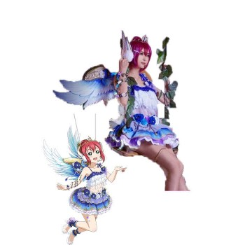Love Live Sunshine Ruby Kurosawa Angel Aqours Dress Cosplay Costumes