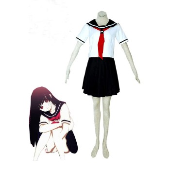 Hell Girl Enma Ai Summer School Mädchen Sailor Uniform Cosplay