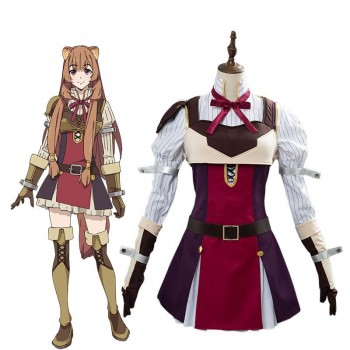 The Rising of the Shield Hero Raphtalia Cosplay Kostüm Anzug