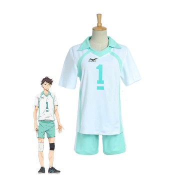 Haikyuu!! Tooru Oikawa Aobajōsai High School Volleyball Club Cosplay Costumes