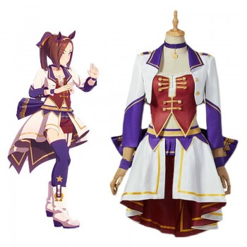 Uma Musume: Pretty Derby Stage Costumes Cosplay Costume