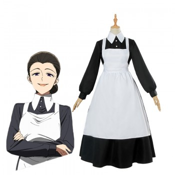 The Promised Neverland Isabella Nonne Kostüm Cosplay Kostüm Anzug