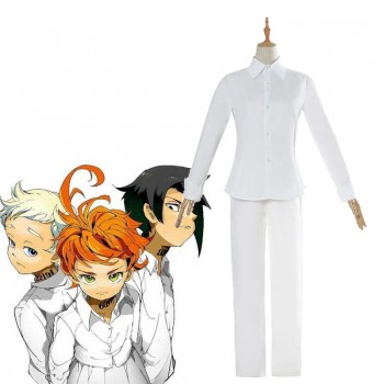 The Promised Neverland Norman&Ray Cosplay Kostüm Anzug