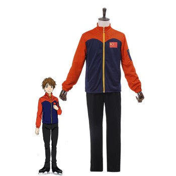 Yuri On Ice Guang Hong Ji Cosplay Costumes Sportswear Suits