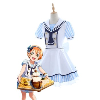 Liebe Live Piraten Set Rin Hoshizora Nettes Kleid AnimeCosplay Kostüme