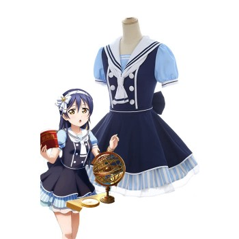 Liebe Live Piraten Set Umi Sonoda Nettes Kleid AnimeCosplay Kostüme