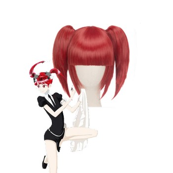 Land of the Lustrous Houseki no Kuni Red Beryl Drei Stile Rote Cosplay Perücke