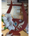 Game Genshin Impact Venti Zither Cosplay Prop