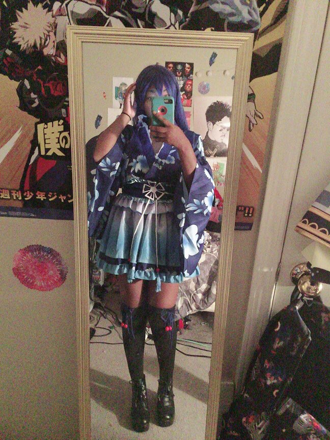 I love it!! I accidentally made the top part loose though lol but it's great!! Exactly like the photo but the only downside is no socks. But thats totally okay! The costume fits like a glove and it was very affordable! I love it very much!!