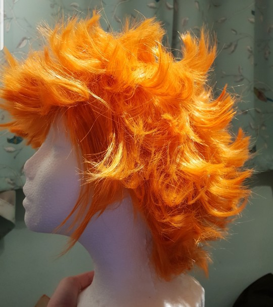 I really love this wig!! Its super soft and easy to style. A lot of trimming and curling has to be done but it's worth it ^^