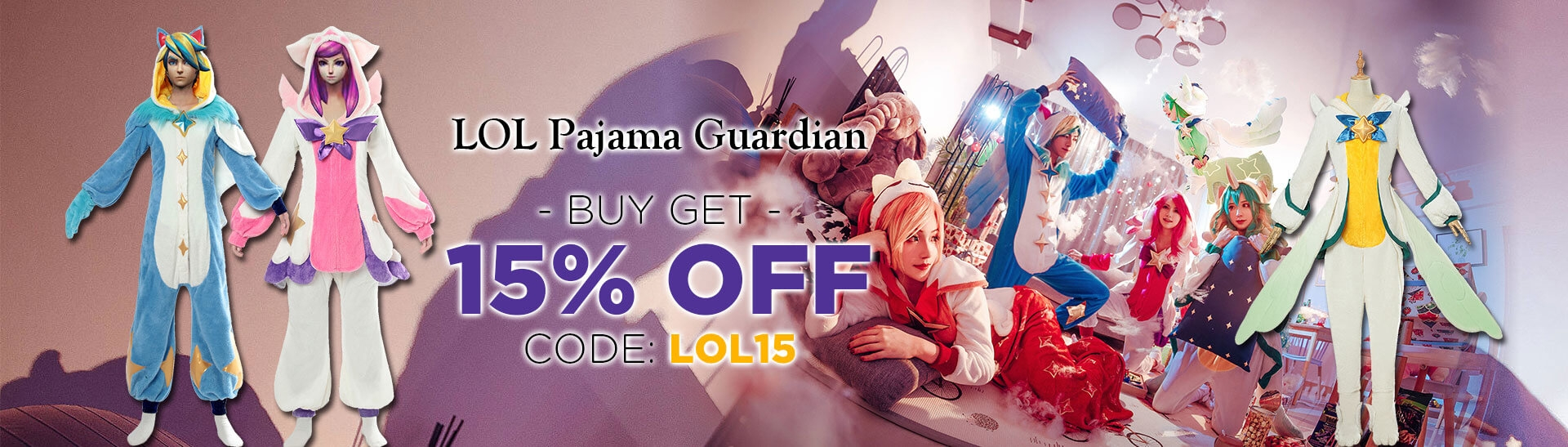 LOL Pajama Guardian Cosplay